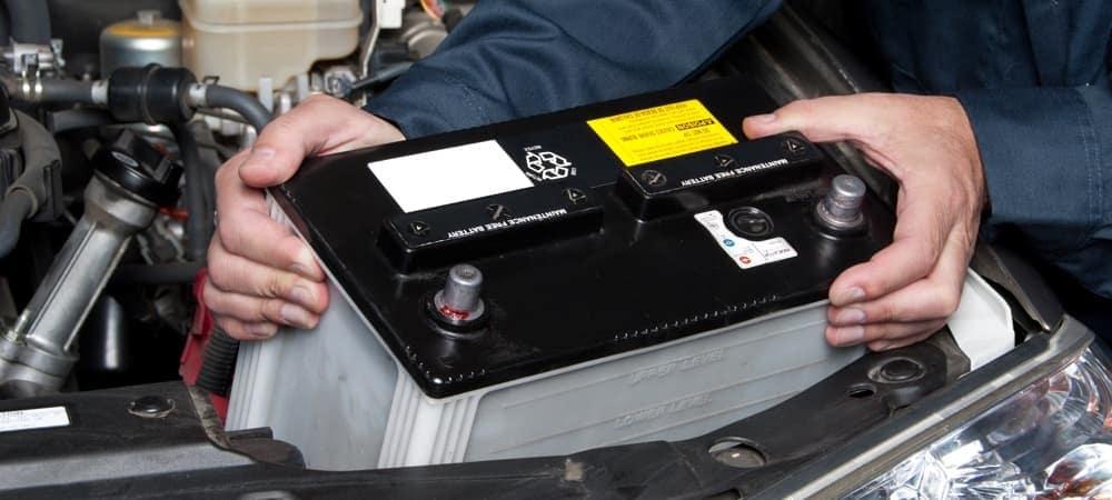 Car Battery Leaking
